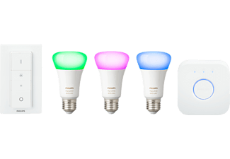 PHILIPS Hue White & Color Ambiance 4. Generation Starter Kit, Weiß