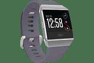 FITBIT Ionic Fitness-Smartwatch Aluminium Elastomer, S/L, Blue-Gray/White