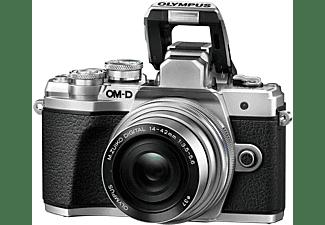 OLYMPUS Systemkamera OM-D E-M10 Mark III 14-42mm Pancake Zoom Kit Silber - Ausstellungsstück