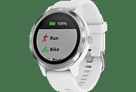 GARMIN vívoactive 3 Smartwatch Silikon, 127-204 mm, Weiß/Silber