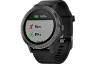 GARMIN vívoactive 3 Smartwatch Faserverstärktes Polymer und Edelstahl Silikon, 127-204 mm, Schwarz