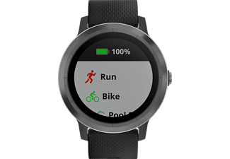 GARMIN Smartwatch Vivoactive 3, schwarz/grau (010-01769-10)