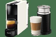 KRUPS XN1111 Nespresso Essenza Mini Kapselmaschine, Weiß