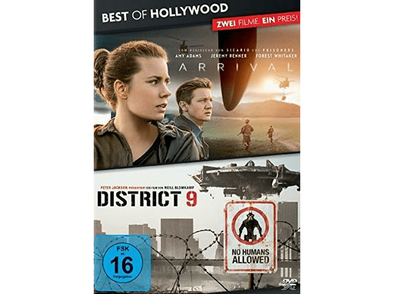 Arrival / District 9 - Best of Hollywood [DVD]