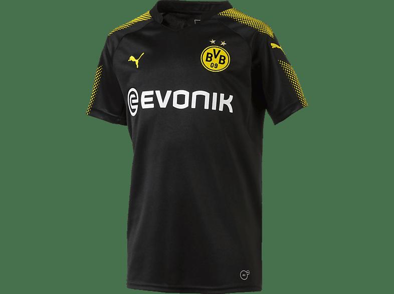 PUMA Borussia Dortmund Trikot, Schwarz/Gelb