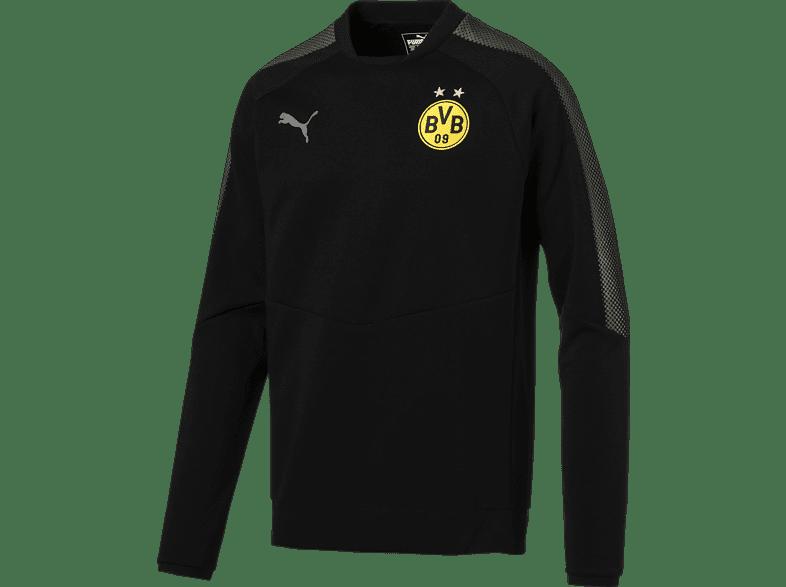 PUMA Borussia Dortmund Sweatshirt, Schwarz