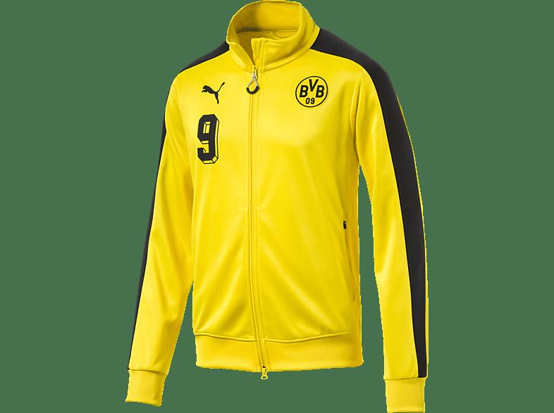 PUMA Borussia Dortmund Trainingsjacke, Gelb/Schwarz