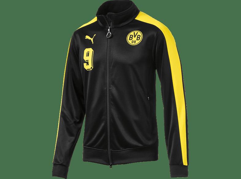 PUMA Borussia Dortmund Trainingsjacke, Schwarz/Gelb