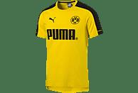 PUMA Borussia Dortmund T-Shirt, Gelb/Schwarz
