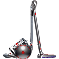 DYSON 228409-01 Cinetic Big Ball Animal Pro 2, Staubsauger ohne Beutel, Nickel