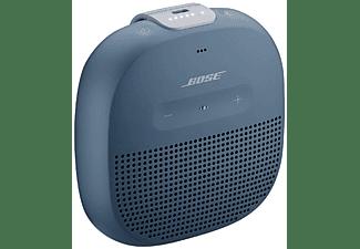 Altavoz inalámbrico - Bose Soundlink Micro, Bluetooth, Resistente al agua (IPX7), Micro USB, Azul