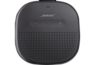 Altavoz inalámbrico - Bose Soundlink Micro, Bluetooth, Resistente al agua (IPX7), Micro USB, Negro