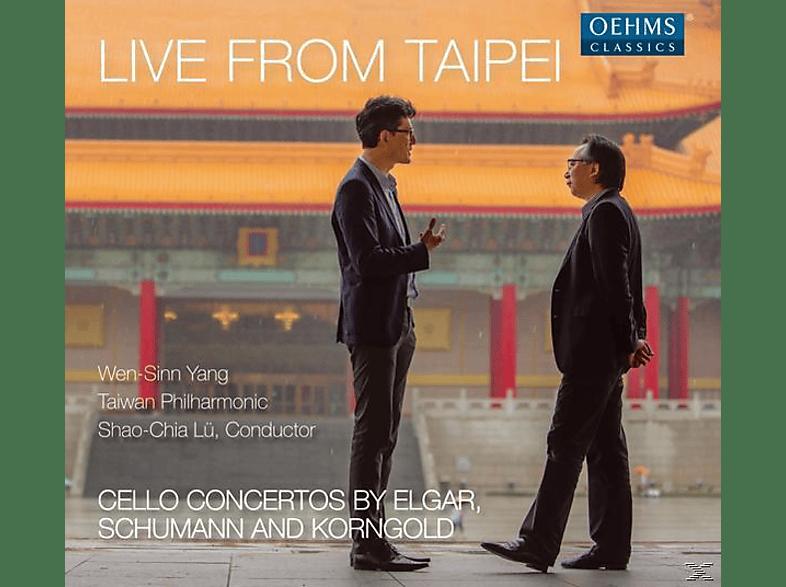 Taiwan Philharmonic, Wen-sinn Yang - Cellokonzerte [CD]