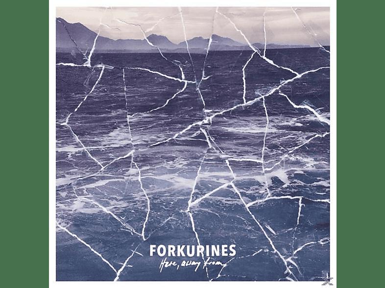 Forkupines - Here,Away From (LTD White Vinyl) [Vinyl]
