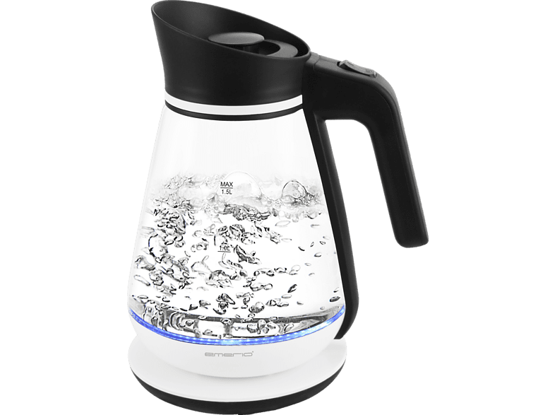 EMERIO WK-111898 Wasserkocher, Weiß