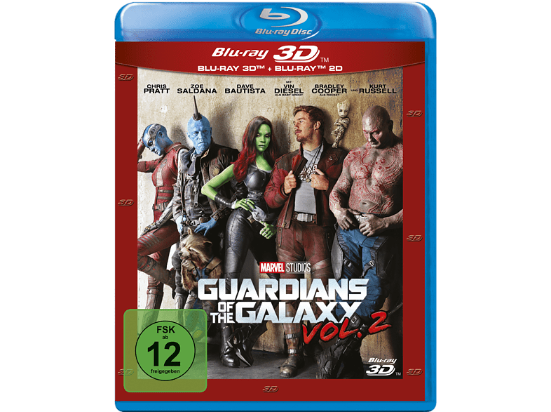 Guardians of the Galaxy 2 (+2D/Nachfolgeprodukt) [3D Blu-ray (+2D)]