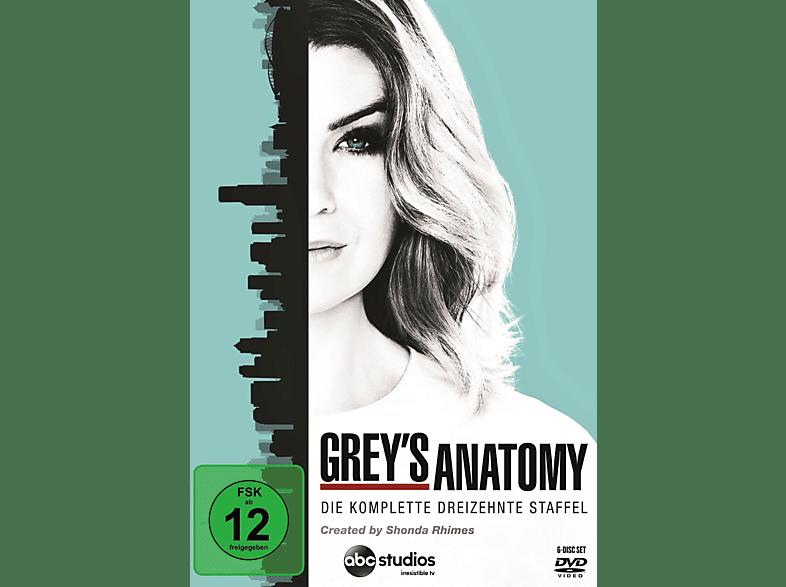 Grey's Anatomy - Die komplette dreizehnte Staffel [DVD]