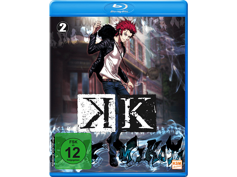 K - Vol 2 (Episoden 06-09) [Blu-ray]