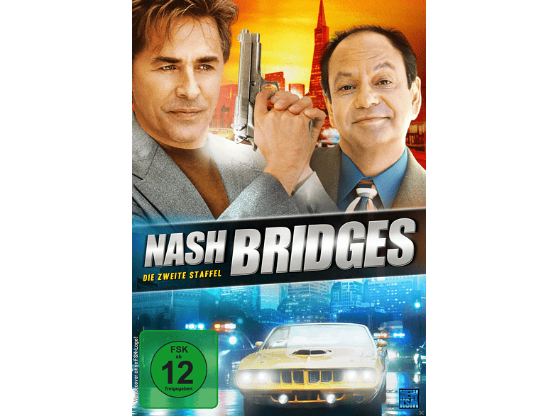 Nash Bridges Staffel 2 (Episoden 9-31) [DVD]