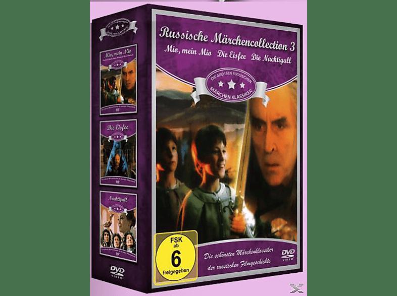 Russische Märchen Collection 3: Mio, mein Mio / Die Eisfee / Die Nachtigal [DVD]
