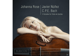 Johanna Rose, Javier Nunez - 3 Sonatas For Viola Da Gamba  - (CD)