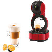 KRUPS KP1305 Nescafé® Dolce Gusto® Lumio Kapselmaschine, Rot/Schwarz