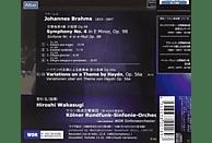 Wdr Sinfonieorchester Köln, Hiroshi Wakasugi - Sinfonie 4/Variationen Über Ein Thema Von Haydn [CD]