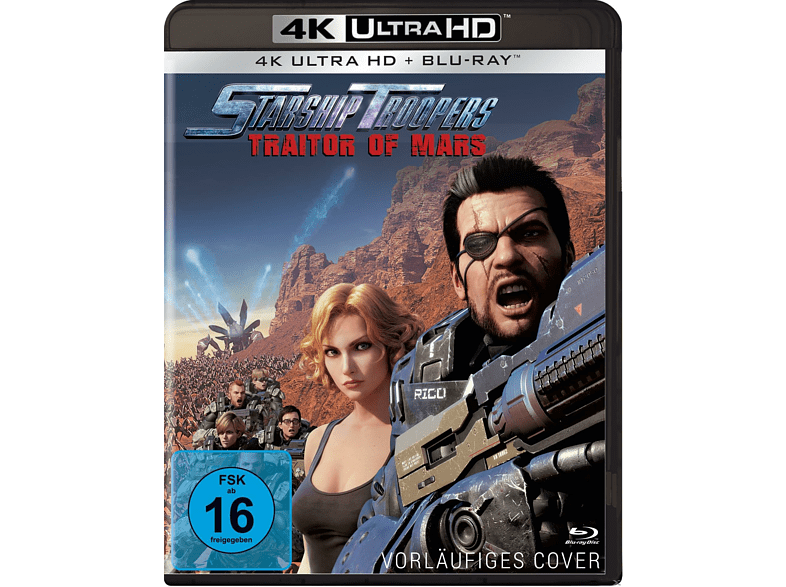 Starship Troopers: Traitor of Mars [4K Ultra HD Blu-ray + Blu-ray]