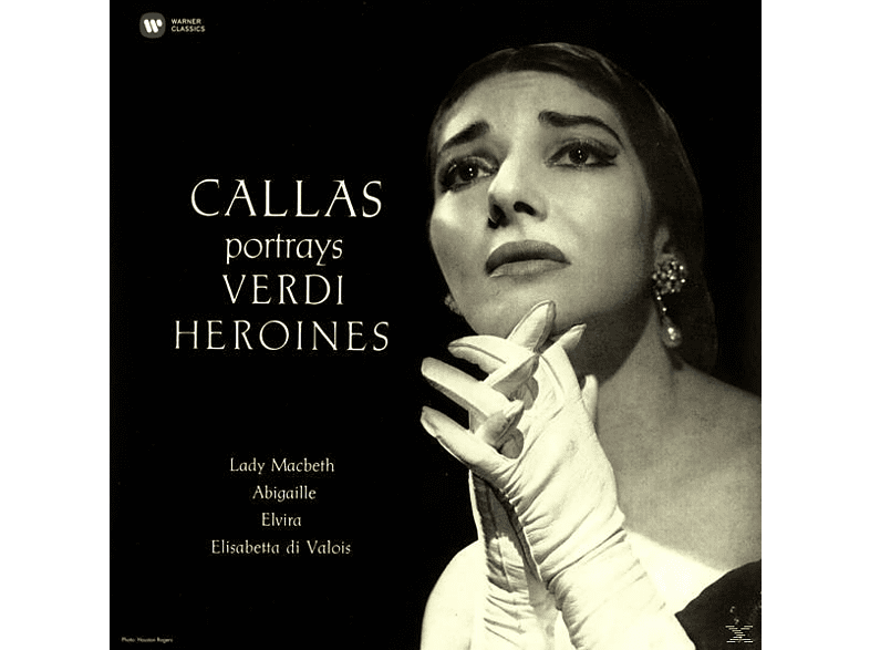 Maria Callas, The Philharmonia Orchestra - Callas portrays Verdi Heroines (Remastered 2014) [Vinyl]