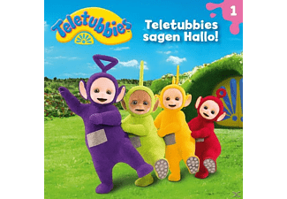 Teletubbies - 01: Teletubbies Sagen Hallo!  - (CD)