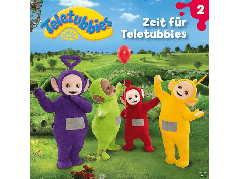 Teletubbies - 02: Zeit Für Teletubbies - (CD)