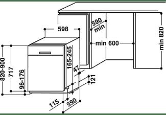 BAUKNECHT BUC 3B+26 X Geschirrspüler (unterbaufähig, 600 mm breit, 46 dB (A), E)