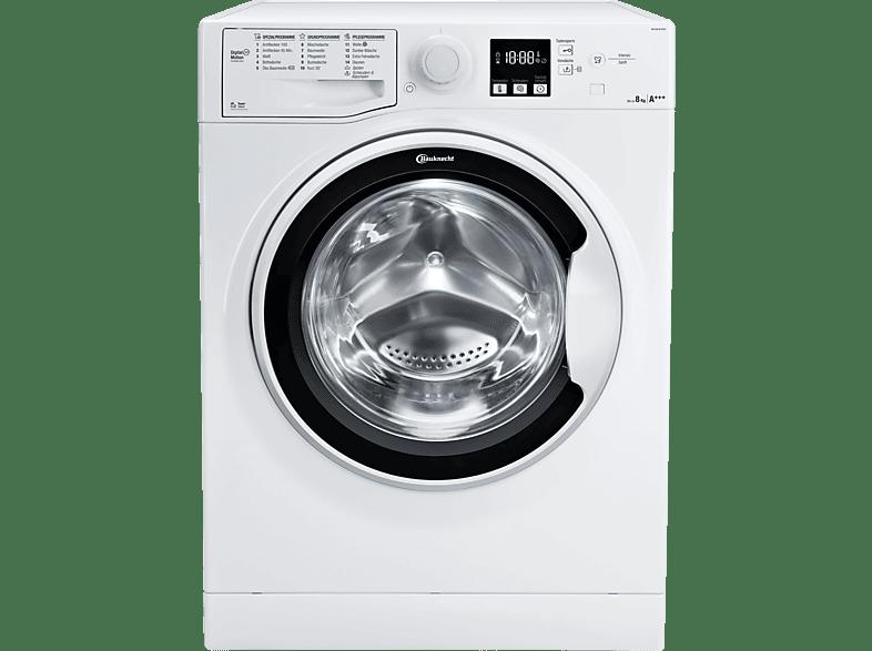 BAUKNECHT WM SENSE 9D43PS  Waschmaschine (8 kg, 1400 U/Min., A+++)