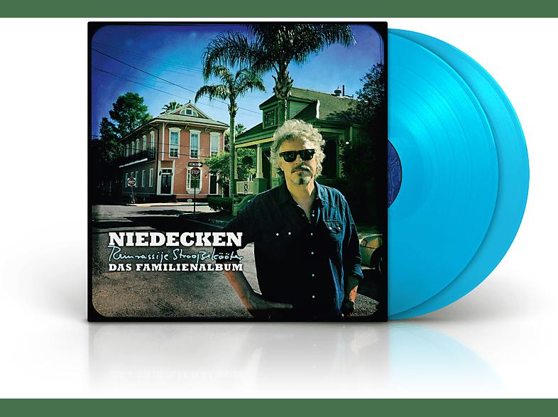 Niedecken - Das Familienalbum - Reinrassije Strooßekööter (Exklusiv-2LP in blau inkl. MP3-Code, durchnummeriert) [Vinyl]