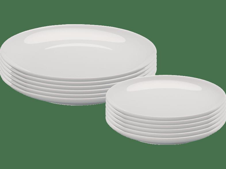 ARZBERG 42100-590003-2835 Cucina-Basic ROK 12-tlg. Speisesgeschirr-Set
