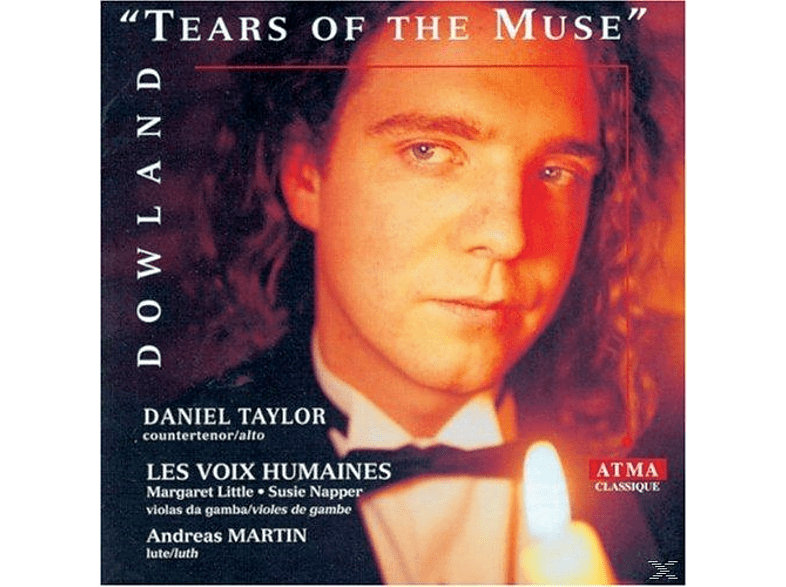 Daniel Taylor, Les Voix Humaines, Margaret Little, Susie Napper, Andreas Martin - Tears Of The Muse [CD]