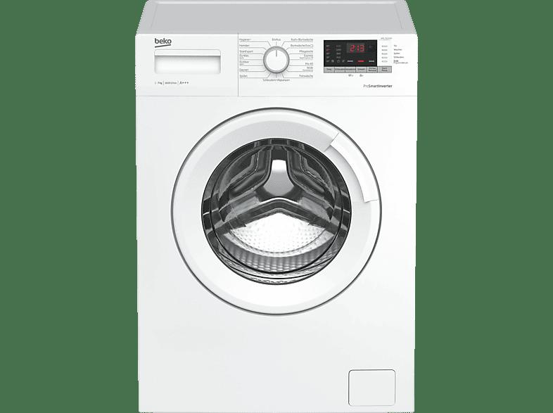 BEKO WML 71633 NP  Waschmaschine (7 kg, 1600 U/Min., A+++)
