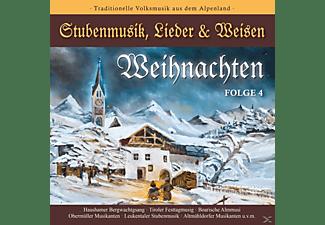 VARIOUS - WEIHNACHTEN-Stubenmusik,Lieder & Weisen 4  - (CD)
