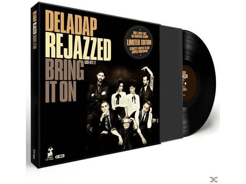 Deladap - ReJazzed-Bring It On (LP+CD) [LP + Bonus-CD]
