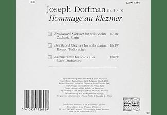 Zacharia Zorin, Romeo Tudorache, Mark Drobinsky - Dorfman:Hommage Au Klezmer  - (CD)