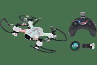 JAMARA Angle 120 Altitude HD Wifi VR Drohne, Weiß/Schwarz