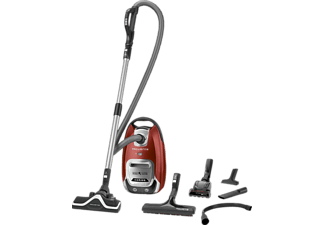 ROWENTA RO 6493 EA Silence Force 4A+ Animal Care, Staubsauger, 550 Watt, Rot