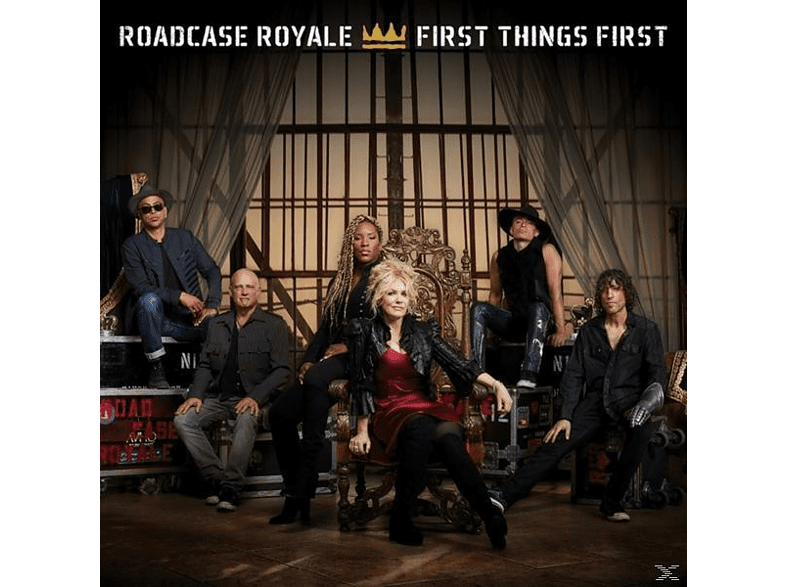 Roadcase Royale - First Things First [CD]