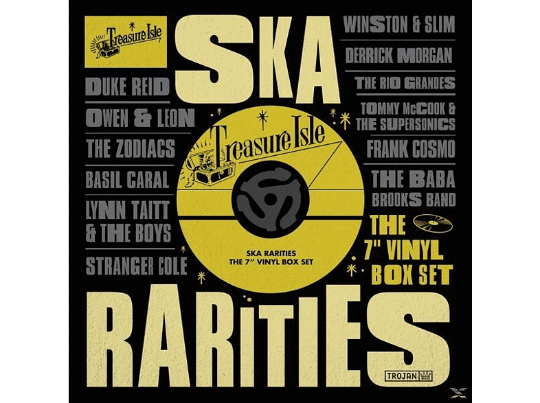 VARIOUS - Treasure Isle Ska Rarities [Vinyl]