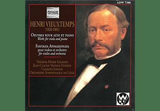 Thérèse-Marie Gilissen, Charles Jongen, Jean Claude Vanden Eynden, Orchestre Symphonique De Liege - Vieuxtemps:Elegie/+  - (CD)