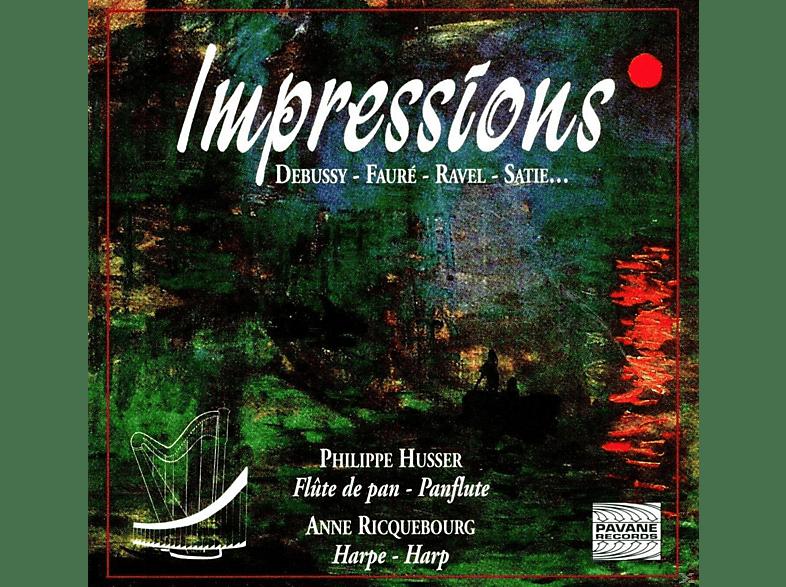 Philippe Husser, Anne Ricquebourg - Impressions Für Panflöte+Harfe [CD]