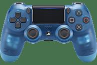 SONY DUALSHOCK4 Wireless-Controller} Blue Crystal