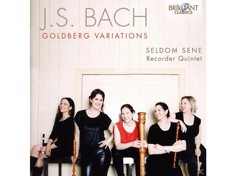 Seldom Sene Recorder Quintet - Goldberg Variations [CD]