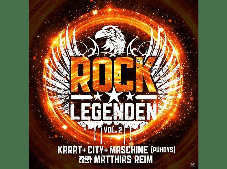 VARIOUS - Rock Legenden Vol.2 [CD]
