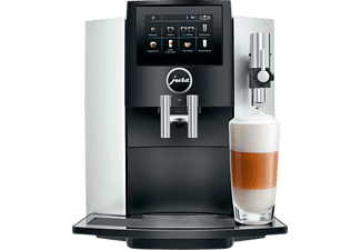 JURA S8 Kaffeevollautomat Moonlight Silver